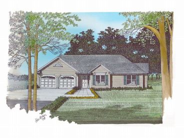 1-Story Home Plan, 007H-0013