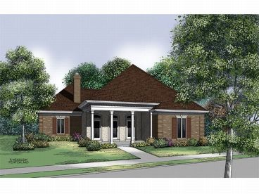 1-Story Home Plan, 021H-0111