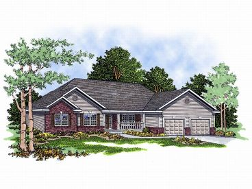 Traditional House Plan, 020H-0034