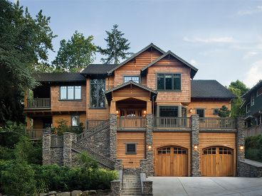Luxury Mountain Home, 034H-0152