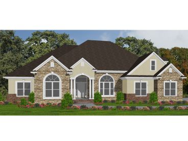 Family House Plan, 073H-0062