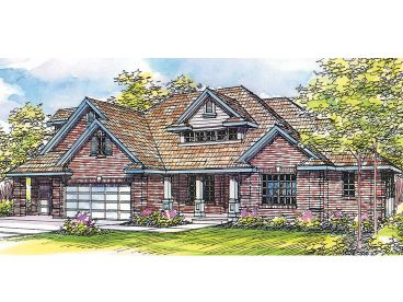 Traditional Home Plan, 051H-0030