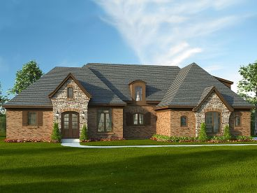 Luxury House Plan, 062H-0015