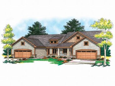 Multi-Family Home Design, 020M-0015