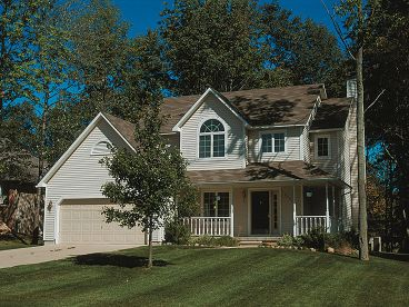 Country House Plan, 031H-0255
