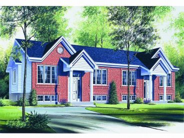 Multi-Family House Plan, 027M-0002