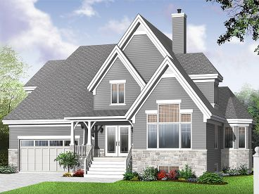 Family House Plan, 027H-0282