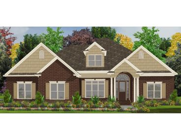 Luxury House Plan, 073H-0090