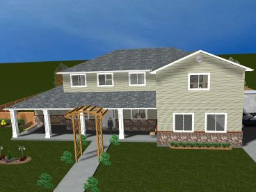 Two-Story Home Design, 065H-0041