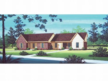 Multi-Family House Plan, 021M-0001