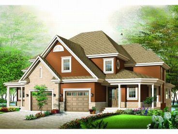 Multi-Family Plan, 027M-0008
