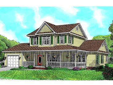 Farmhouse Plan, 044H-0006