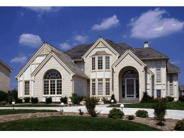 Home Plan Photo, 031H-0055