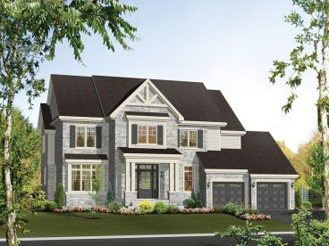 Two-Story House Plan, 072H-0151