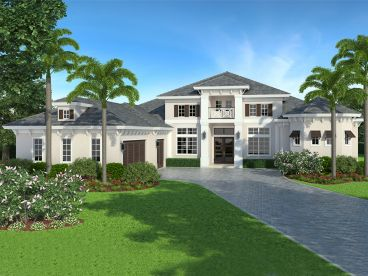 West Indies House Plan, 070H-0017