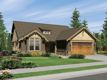 Craftsman House Plan, 034H-0001