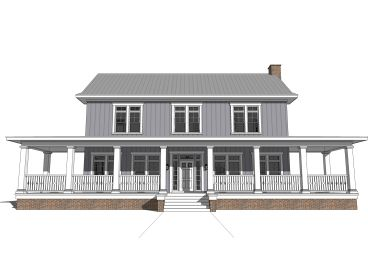 Farmhouse Plan, 052H-0107