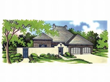 1-Story House Plan, 021H-0097