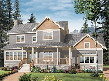 Family House Plan, 027H-0222