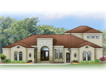 Sunbelt Home Plan, 064H-0051
