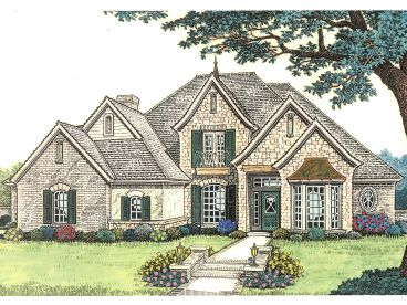Two-Story House Plan, 002H-0086