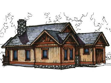 Mountain Vacation Home, 025H-0192