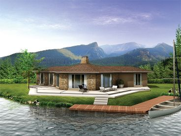 Vacation House Plan, 057H-0002