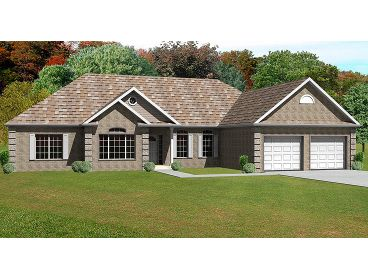 Traditional House Plan, 048H-0052