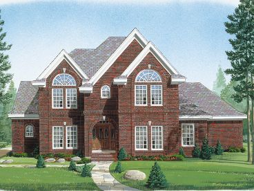 Luxury House Plan, 054H-0025