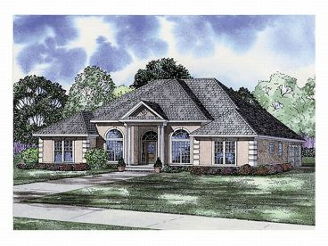 1-Story Home Plan, 025H-0029