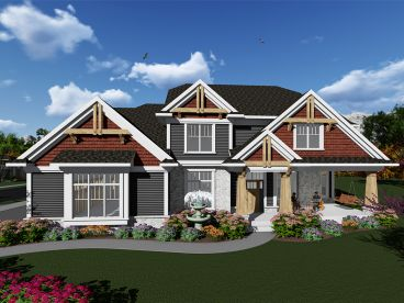 Craftsman House Plan, 020H-0417