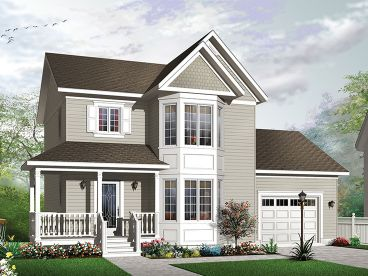 Victorian House Plan, 027H-0449