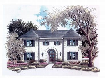 Two-Story Home Design, 004H-0084