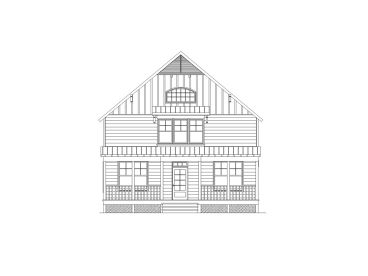 Two-Story House Plan, 053H-0070