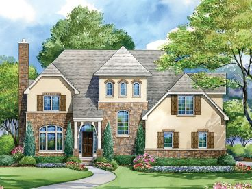 Luxury House Plan, 031H-0229