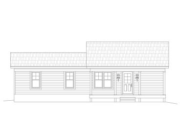 Tiny House Plan, 062H-0158