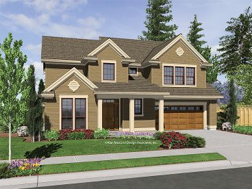 Traditional House Plan, 034H-0182