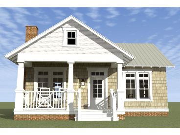 Cottage Home Plan, 052H-0059