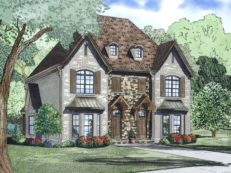 Duplex Home Design, 025M-0098