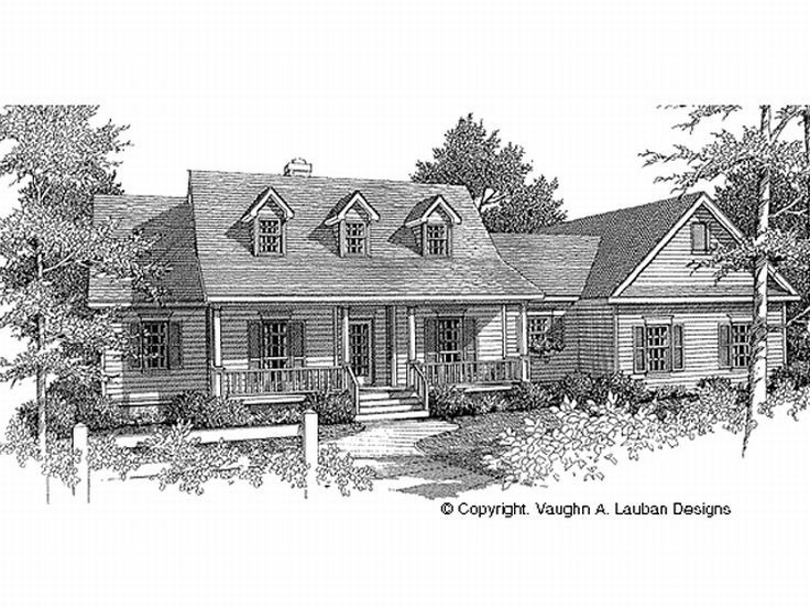 Country House Plan, 004H-0097