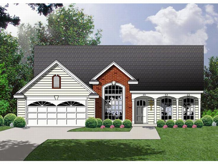 Country Home Plan, 015H-0019