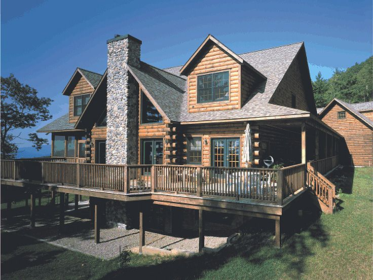 Rustic pole barn designs 30x40 joy studio design gallery for Mountain log home plans