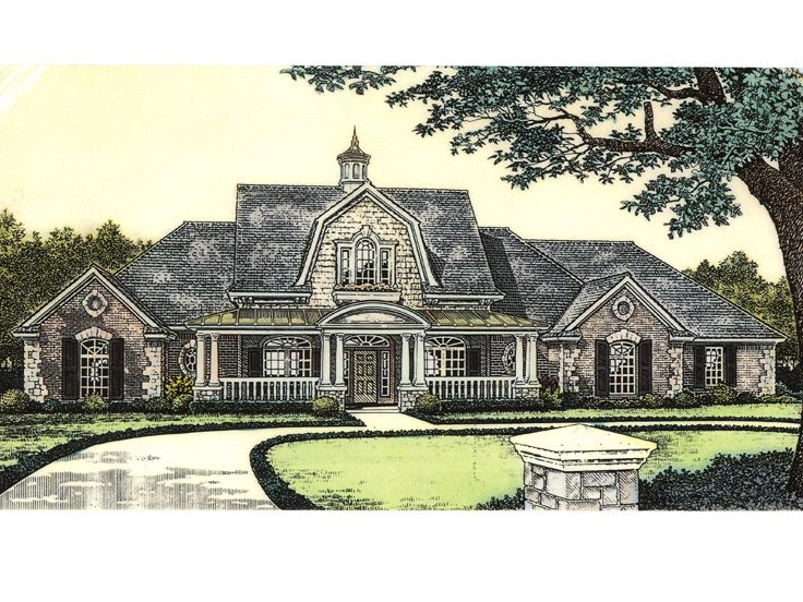 Unique Home Plan, 002H-0076