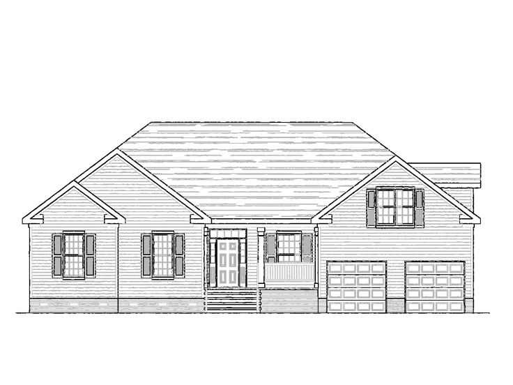 Traditional Home Plan, 058H-0113