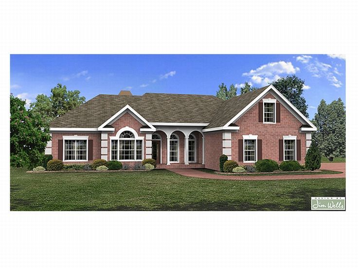 1-Story Home Plan, 007H-0050