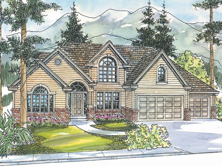 Traditional House Plan, 051H-0113