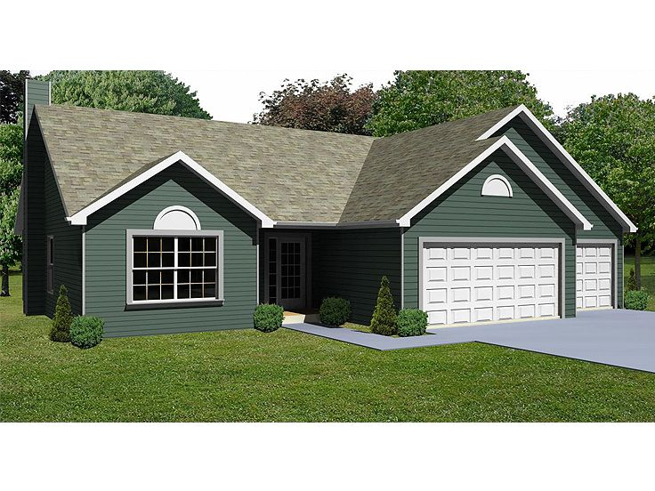 Small House Plan, 048H-0011