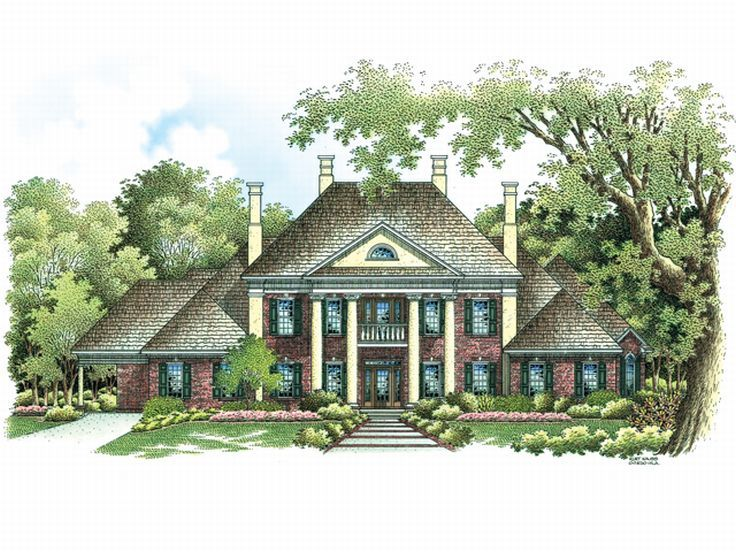 Charming luxury empty nester house bungalow house plans for Luxury empty nester house plans