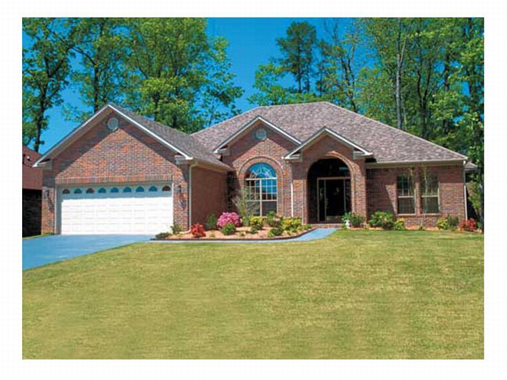 Plan 025h 0032 find unique house plans home plans and for One story brick house plans