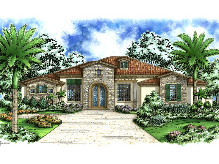 Luxury House Plan, 040H-0014